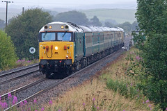 Vac Attack! (Richie B.) Tags: upper denton cumbria tyne valley line 1z08 garcia hanson english electric british rail class 50 50008 db cargo branch society emd general motors 67 67002