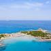 The beach of Punta Molentis in Sardinia, Italy