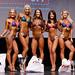 Women's Bikini - Novice 4th Cote 2nd Johnson 1st Wiebe 3rd Carlson 5th Boychuk