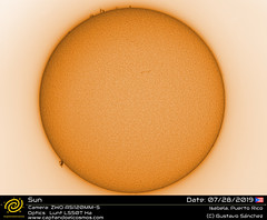 sun-07282019-white (gustchenchi) Tags: sun lunt hydrogenalpha puertorico astronomy astrophotography