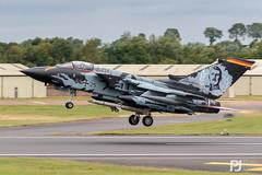 Luftwaffe Tornado ECR 43+25 (philrdjones) Tags: 2019 4325 7dmkii afterburner aircraft airshow avgeek canon egva ffd fairford july luftwaffe panavia raffairford riat reheat royalinternationalairtattoo specialscheme tornado