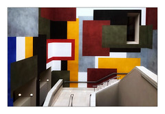 Galerie Tate Britain (Jean-Louis DUMAS) Tags: stair escalier peintre peinture muséum musée artiste artist artistique art architecture abstraction abstract abstrait