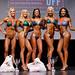 Women's Bikini - Class D 4th De Vera 2ndFoglietta 1st Poulin 3rd Johnson 5th Brereton