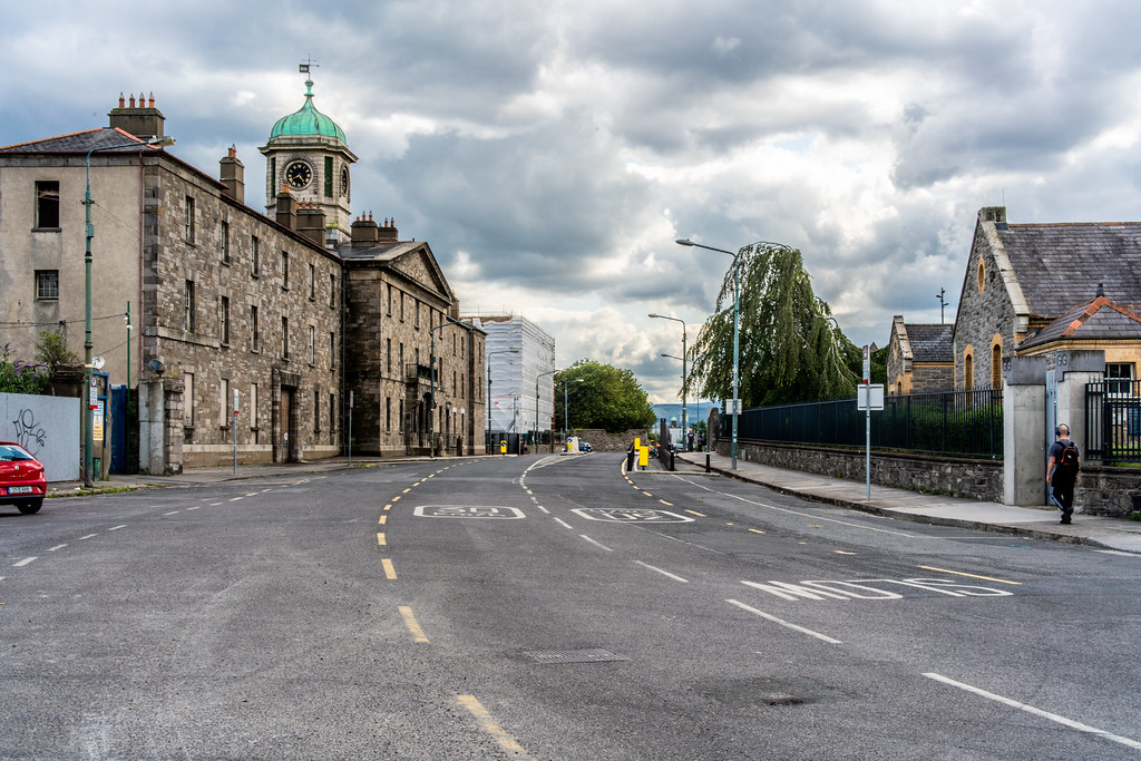 GRANGEGORMAN COLLEGE CAMPUS - NOW TU DUBLIN CAMPUS [PHOTOGRAPHED USING A VOIGTLANDER 40mm LENS]-1544588