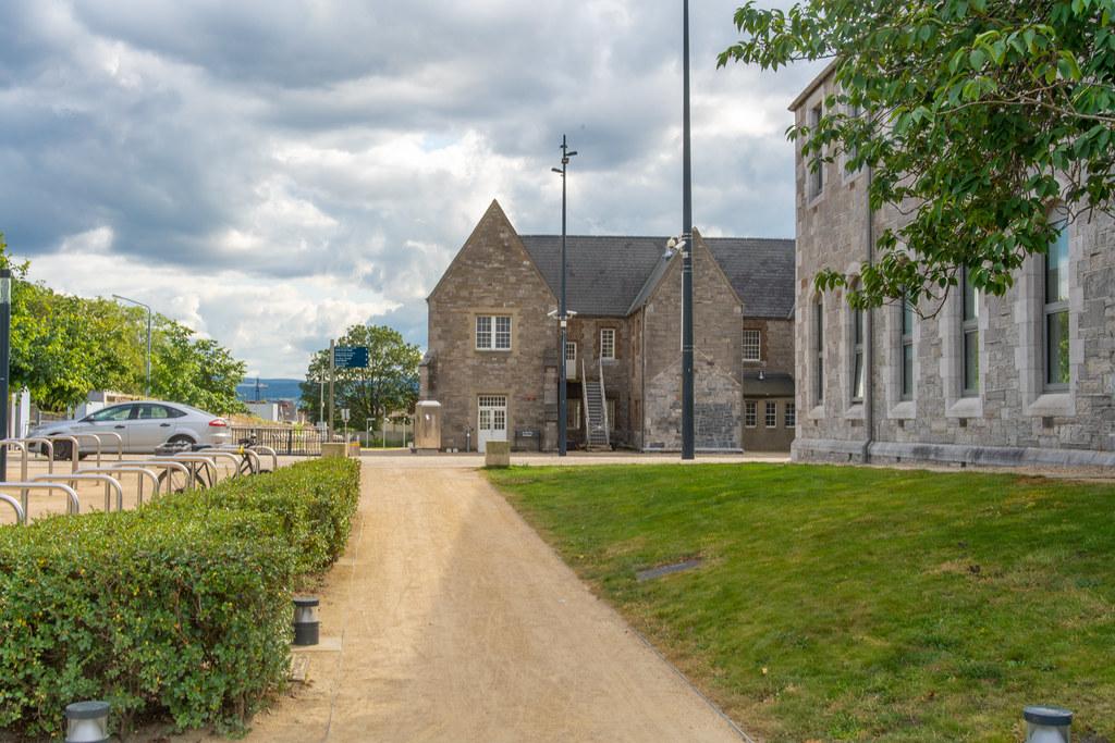 GRANGEGORMAN COLLEGE CAMPUS - NOW TU DUBLIN CAMPUS [PHOTOGRAPHED USING A VOIGTLANDER 40mm LENS]-1544593