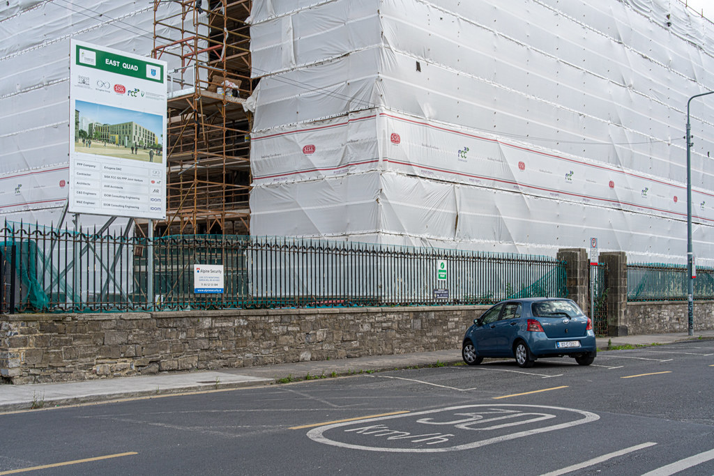 GRANGEGORMAN COLLEGE CAMPUS - NOW TU DUBLIN CAMPUS [PHOTOGRAPHED USING A VOIGTLANDER 40mm LENS]-1544633