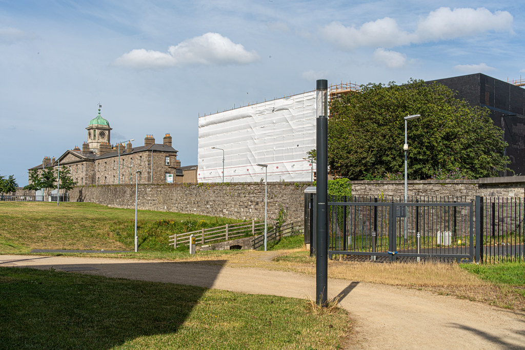 GRANGEGORMAN COLLEGE CAMPUS - NOW TU DUBLIN CAMPUS [PHOTOGRAPHED USING A VOIGTLANDER 40mm LENS]-1544623