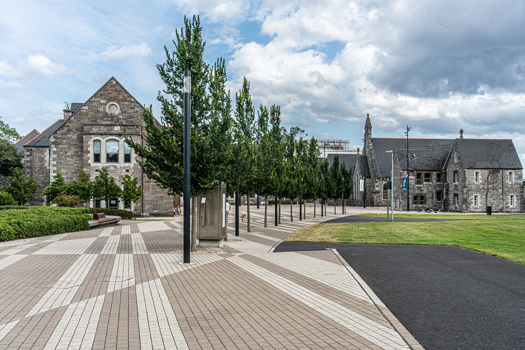 GRANGEGORMAN COLLEGE CAMPUS - NOW TU DUBLIN CAMPUS [PHOTOGRAPHED USING A VOIGTLANDER 40mm LENS]-1544598