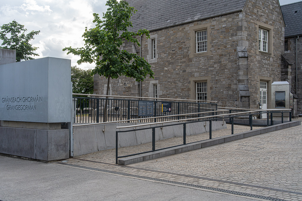 GRANGEGORMAN COLLEGE CAMPUS - NOW TU DUBLIN CAMPUS [PHOTOGRAPHED USING A VOIGTLANDER 40mm LENS]-1544632