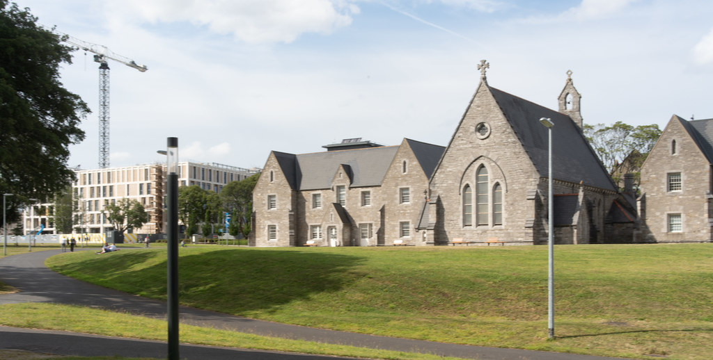 GRANGEGORMAN COLLEGE CAMPUS - NOW TU DUBLIN CAMPUS [PHOTOGRAPHED USING A VOIGTLANDER 40mm LENS]-1544625