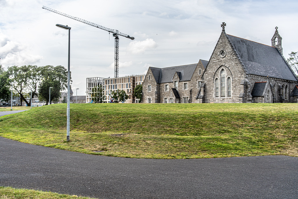 GRANGEGORMAN COLLEGE CAMPUS - NOW TU DUBLIN CAMPUS [PHOTOGRAPHED USING A VOIGTLANDER 40mm LENS]-1544609