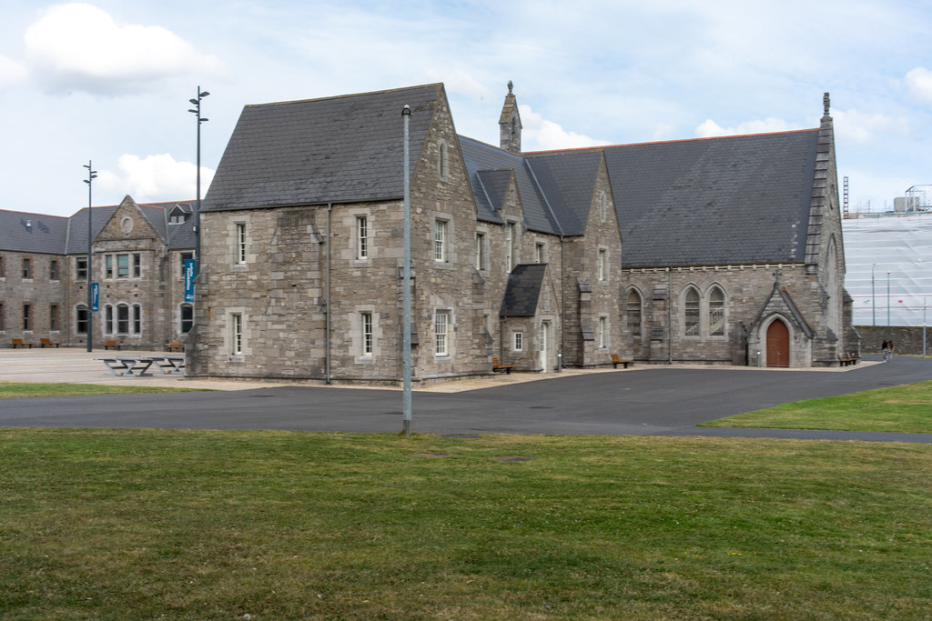 GRANGEGORMAN COLLEGE CAMPUS - NOW TU DUBLIN CAMPUS [PHOTOGRAPHED USING A VOIGTLANDER 40mm LENS]-1544603