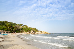 Simius Beach in Sardinia, Italy