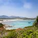 Villasimius Bay in Sardinia, Italy