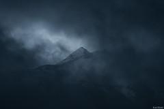 Burtscherkopf (karlsaiz) Tags: österreich arlberg hdr blaue stunde berg