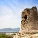 Tower of Porto Giunco (Torre di Porto Giunco) in Sardinia, Italy