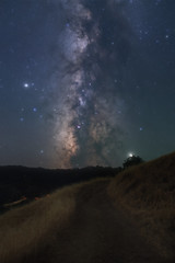 The Milky Way with fewer visible stars (fksr) Tags: milkyway night sky digitalprocessing starsremoved saturn jupiter landscape road lakesonoma sonomacounty california stars galaxy