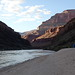 Sunset - Stone Creek beach - Grand Canyon
