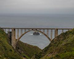 Bixby Creek Bridge (WestEndFoto) Tags: agenre california artificial bridge queueparktravelnextinline industrialphotography bigsur us queueparkepnextinline dgeography bsubject flickrwestendfoto flickr fother carmel unitedstatesofamerica