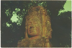 (grousespouse) Tags: vietnam 35mm analog film olympusom2n fzuiko50mmf18 vision3 kodakvision250d daylight cinematic filmphotography temple mystique dreamlike analogue cinemafilm asia colorfilm colourfilm mystery atmosphere mood argentique 50mm cinema acid wash tropical vibes buddhism khmer statue southeastasia psychedelic mysterious vintage retro scanned croplab grousespouse 2019 oc eo