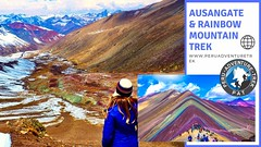 "Vinicunca, also called ""The mountain of 7 colors"" or rainbow mountain Peru. According to the locals, this mountain and the surrounding area were covered with snow a few decades ago, and due to global warming, the snow has disappeared leaving them exposed (Peru adventure trek) Tags: vinicunca adventures peru cusco rainbowmountain peruadventuretrek ausangatetrek travel"
