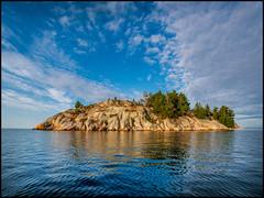 Little Fox (Rodrick Dale) Tags: fox islands georgian bay lake huron ontario canada cloud sky water rock