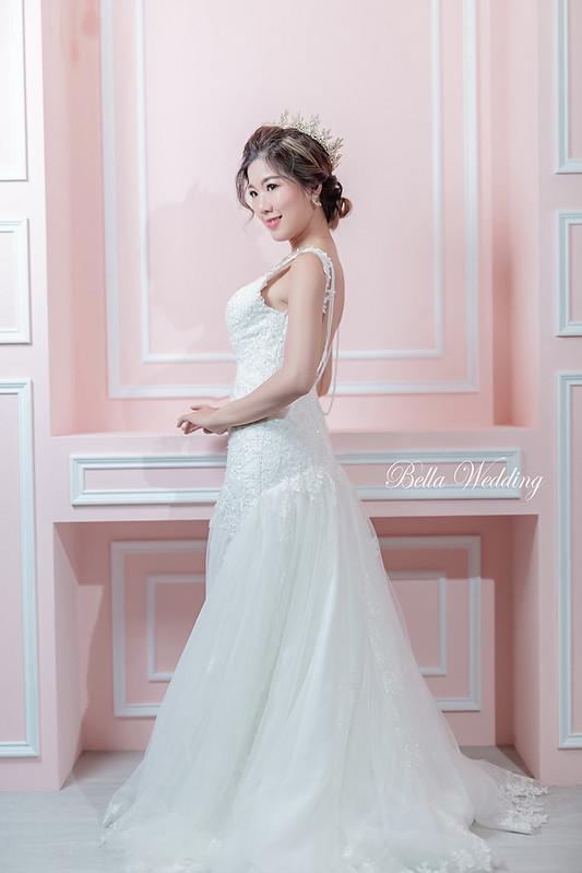 嘉義新秘,新秘,新娘造型,華麗圓冠,韓系典雅白紗造型,精緻眼妝,韓系清透妝感