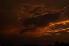 Sunset 7 20 19 082 (Az Skies Photography) Tags: sun set sunset dusk twilight nightfall sky skyline skyscape rio rico arizona az riorico rioricoaz arizonasky arizonaskyscape arizonaskyline arizonasunset cloud clouds red orange yellow gold golden salmon black canon eos 80d canoneos80d eos80d canon80d july 20 2019 july202019 72019 7202019