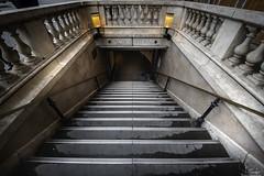 Way to the underground... - Place de la Concorde - Paris - France (R.Smrekar) Tags: france 2018 city smrekar stairs d750 000500