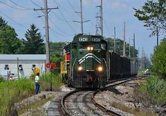 YS 8343 SB. Boardman, OH (bobchesarek) Tags: youngstownsoutheastern ys emdgp10 shortlinerailroad trains railroad locomotive