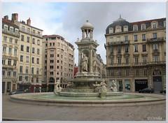 France - Lyon - Jacobins Square (ottilia dozsa) Tags: lyon france franciaorszag square ter szokokut fountain xlmtclamag ycabj unesco cf