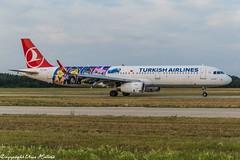Turkish Airlines TC-JSU (U. Heinze) Tags: aircraft airlines airways airplane flugzeug planespotting plane haj hannoverlangenhagenairporthaj nikon d610 nikon28300mm eddv