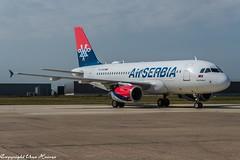 AirSERBIA YU-APD (U. Heinze) Tags: aircraft airlines airways airplane flugzeug planespotting plane haj hannoverlangenhagenairporthaj nikon d610 nikon28300mm eddv