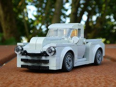 1949 Chevrolet Advance (captain_j03) Tags: chevrolet advance chevy 1949 johnnid lego pickup car toy spielzeug 365toyproject