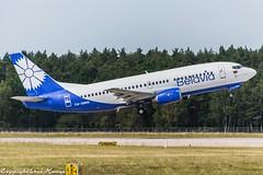Belavia EW-366PA (TO) (U. Heinze) Tags: aircraft airlines airways airplane planespotting plane nikon d610 nikon28300mm haj hannoverlangenhagenairporthaj flugzeug eddv