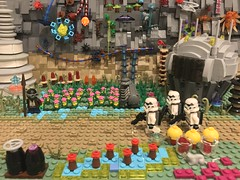 Imperial Patrol: Felucia (Odyssey Builds) Tags: lego star wars imperial patrol felucia farm moc stormtroopers stormtrooper plants build