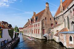 Canal Buildings 6 (mick.seale) Tags: bruge brugge brugges belguim travel europe