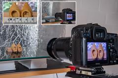 "Making of ""Made of Wood"" (Digifred.nl) Tags: macromondays madeofwood digifred 2019 hmm nederland netherlands nikond500 makingof macro macrophotography closeup klomp klompjes woodenshoes dutchwoodenshoes clogs dutchicon footwear"