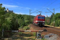 243 650-9 Delta Rail (Zugbild) Tags: bahn zug eisenbahn train rail lew br143 br243 dr deltarail lady saaleck rudelsburg elok ellok güterzug deutschereichsbahn thüringen