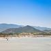 Der Strand von Porto Giunco auf Sardinien, Italien