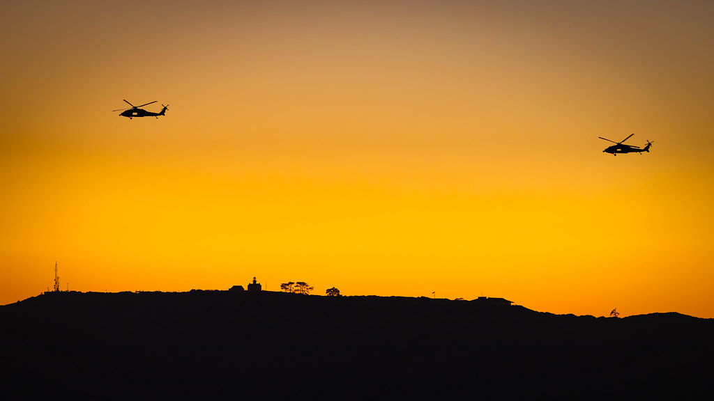 The World's Best Photos of chopper and sunset - Flickr Hive Mind