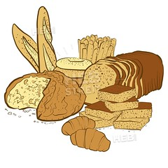 bakery basket products (Hebstreits) Tags: agriculture background bagel baguette baker bakery basket bread breakfast bun collection cooking croissant decoration dough drawn eating flour food fresh grain grocery hand healthy illustration isolated loaf meal menu natural nutrition organic pastries pastry pretzel product products restaurant roll rye shop sketch store tasty traditional vector vintage wheat white wicker