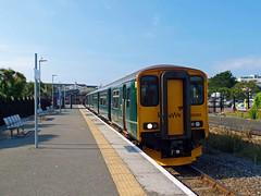150265 Newquay (2) (Marky7890) Tags: gwr 150265 class150 sprinter 2n09 newquay railway cornwall atlanticcoastline train