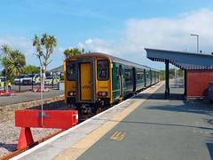 150265 Newquay (6) (Marky7890) Tags: gwr 150265 class150 sprinter 2n09 newquay railway cornwall atlanticcoastline train