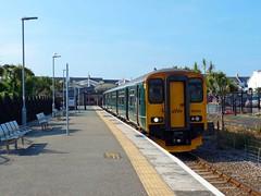 150265 Newquay (4) (Marky7890) Tags: gwr 150265 class150 sprinter 2n09 newquay railway cornwall atlanticcoastline train