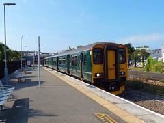 150265 Newquay (3) (Marky7890) Tags: gwr 150265 class150 sprinter 2n09 newquay railway cornwall atlanticcoastline train