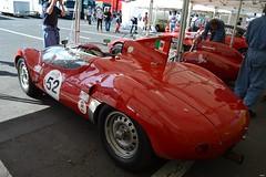MASERATI Tipo 63 (Birdcage) - 1961 (SASSAchris) Tags: maserati tipo 63 tipo63 voiture italienne httt htttcircuitpaulricard htttcircuitducastellet 10000 10000toursducastellet tours castellet circuit ricard scuderia serenissima birdcage