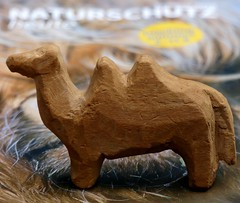 more than 70 years old wood toy (BrigitteE1) Tags: macromondays madeofwood toy wood camel macro old