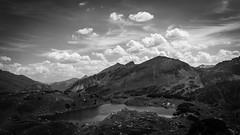 Obertauern, Salzburg, mountain lake (gotan-da) Tags: mountain lake blackwhite schwarzweiss noiretblanc blackandwhite bw monochrome austria salzburg obertauern