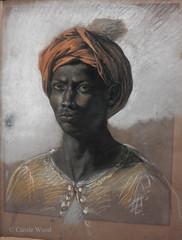 Paris - Musée d'Orsay (Fontaines de Rome) Tags: paris musée orsay exposition modèle noir géricault matisse jeune homme buste turban rouge eugène delacroix